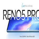 खरीदें Oppo Reno5 Pro 5G शानदार वीडियोग्राफी के लिए, लॉन्च 18 जनवरी को होगा