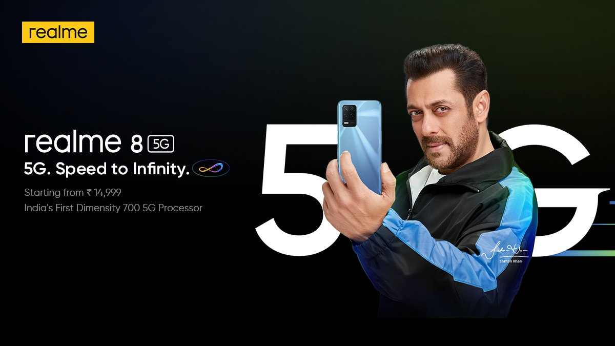 Realme 5G phone features