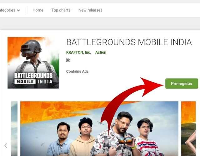 Battlegrounds Mobile India Game Download