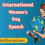 Best Women's day speech in hindi {PDF} | महिला दिवस पर बेस्ट भाषण दे