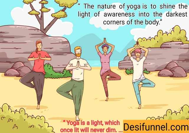 Yoga Day Wishes 21 june 2021 in hindi with images